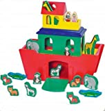 Melissa & Doug: Noah's Ark Activity Set, 22 Piece Set, Solid Wood