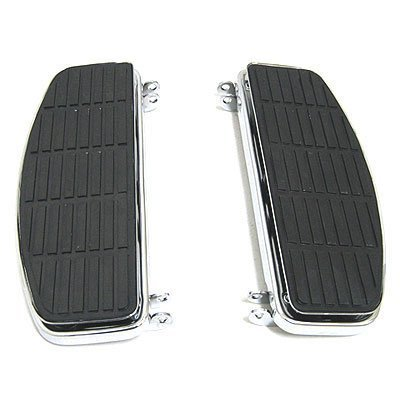 BKRider Late Style Mount Rectangular Anti-Vibration Floorboards For Harley-Davidson OEM# 50621-79A