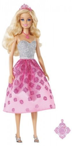Barbie Princess Barbie Doll and Gift for Girl Necklace