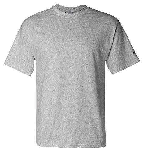 Champion T425 Adult Short-Sleeve T-Shirt Light Steel (90/10)