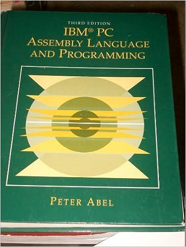Assembly Language For Ibm Pc By Kip R irvine Pdf - missionlivin