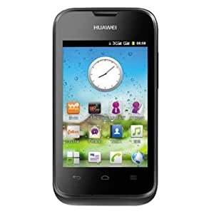 "Huawei Ascend Y210 - Smartphone libre Android (pantalla 3.5"", cámara 2 MP, 0.5 GB, 1.2 GHz, 256 MB RAM), negro"