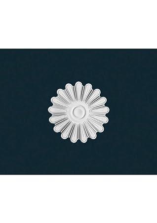 Rosace Plafond Polystyrène Haute Densité Rm 24 Diamètre