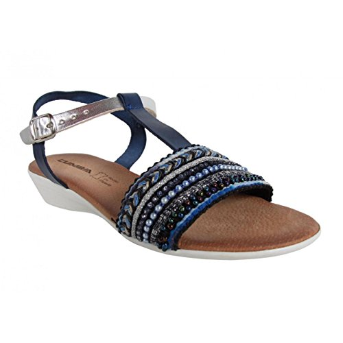 Sandalias de Mujer CUMBIA 30113 MARINO-PLATA
