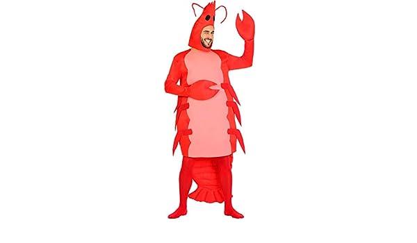 Disfraz de Gamba Roja para Adulto: Amazon.es: Juguetes y juegos