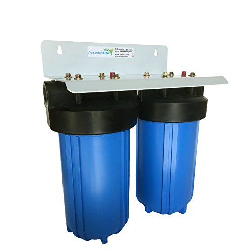 Aquatic Life Blue 2-Stage Hydroponic Water Filtration System