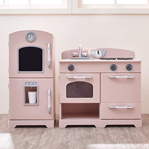 Teamson Kids Retro Wooden Play Kitchen