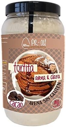 PR-OU Tortitas proteicas de Clara de Huevo y Avena 1 kg ...