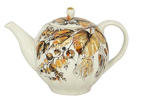 Lomonosov Porcelain Teapot Tulip My Garden 3-Cup 20 oz/600 ml
