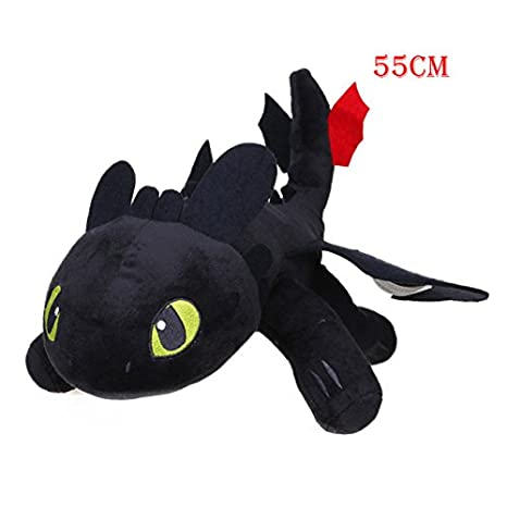 Toothless Night Fury Plush Toys How to Train Your Dragon Soft Stuffed Animal Dolls Juguetes de