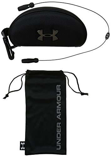 Under Armour Unisex-Adult Ua Eyewear Accessory Pack 86910090-001 Cases, Black/ Gray, 0 mm