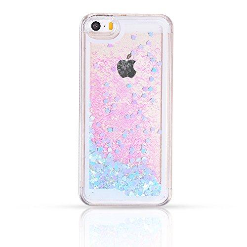 Iphone Liquid Glitter Case