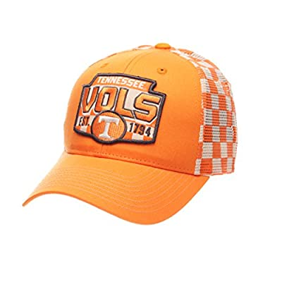Zephyr NCAA Tennessee Volunteers Men's Interstate Trucker Cap, Adjustable, Light Orange from Zephyr Graf-X