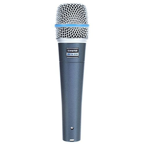 (Shure BETA-57A Supercardioid Instrument Microphone Dynamic Handheld Mic)