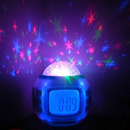Joystar Sky Star Night Light Projector Lamp Bedroom Alarm Clock With Music Buy Online In Uae Electronics Products In The Uae See Prices