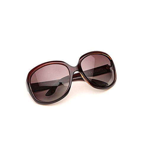 de 2 Gafas Gafas Cara los la Sra Sol polarizadas Redondas Sol de de la Vintage vidrios Que DT conducen de Color 5Rnqdw5