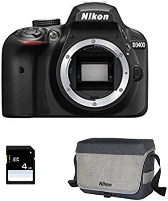 NIKON D3400 Nu + Sac + SD 4Go: Amazon.es: Electrónica