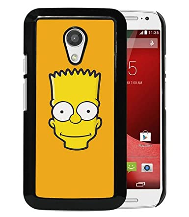 Amazon.com: Motorola Moto G 2nd Generation Aj Bart Face Art ...
