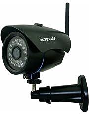 Apexis Überwachungskamera WLAN IP Kamera für Außenbereich/Innenbereich/Zuhause Überwachung