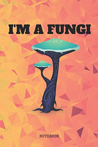 "Notebook: Funny I Love Mushroom Cooking Planner / Organizer / Lined Notebook (6"" x 9"") by Andrew Garden"