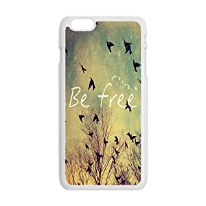 Happy be free Phone Case for Iphone 6 Plus