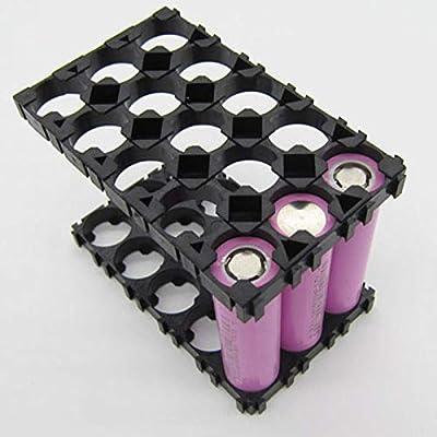 FidgetFidget Battery 3x5 Cell Battery Bracket Plastic Holder Spacer Radiating Shell for 18650