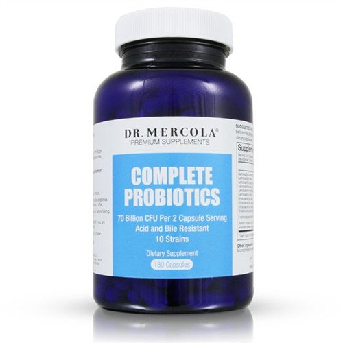 Mercola Complete Probiotics 90 Capsules 1 Bottle