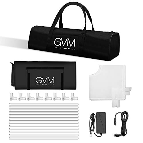 GVM Portable Photo Light Box, 24x24 inch/60x60 cm, Professional Photo Studio with LED Light, Foldable and Easy Set up Table Top Photo Lighting Studio, Photo Studio Kit for Photography by GVM (Image #6)