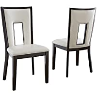 Steve Silver Company Delano Side Chairs (Set of 2), 19 x 23 x 40