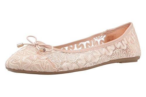 FITTERS FOOTWEAR - Tina - Damen Ballerinas - Rosa Schuhe in Übergrößen
