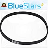 Ultra Durable W10006384 Washer Drive Belt Replacement Part by Blue Stars- Exact Fit for Whirlpool Maytag Kenmore Washers - Replaces WPW10006384VP PS11747978