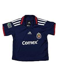 Club Deportivo Chivas USA MLS Infants Away Replica Jersey Polo Top, Blue