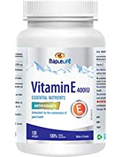 Maplelife Vitamin E 400IU - Natural - 100 softgels