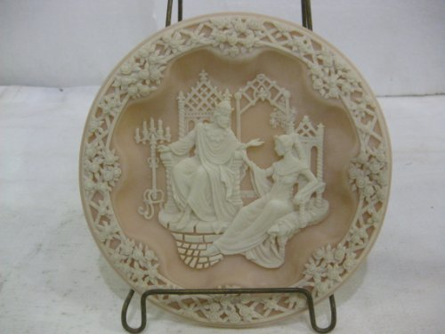 - Incolay Studios Macbeth & Lady Macbeth Fourth Issue In The Shakespearean Lovers Series Decorative Plate