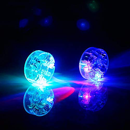 DSJUGGLING Transparent LED Light Kit for Diabolos Set of 2 - Batteries NOT Included