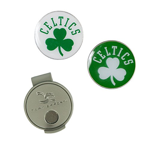Team Effort NBA Boston Celtics Hat Clip & 2 Ball Markers