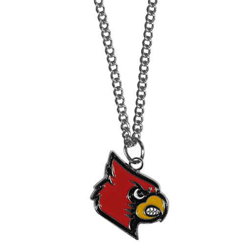 Siskiyou NCAA Louisville Cardinals Chain Necklace with Small Pendant, 20