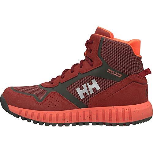 Helly Red Hansen Brick Donna Bright Ht 199 Alti Monashee da Beluga Ullr Stivali W Escursionismo Rosso PPd1wr