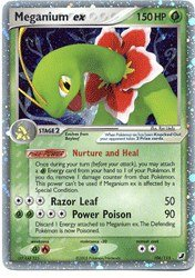 Meganium EX Pokemon card  Unseen Forces  106 115