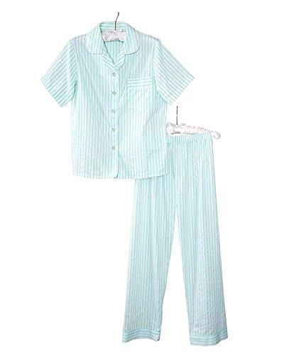 Cotton Striped Pajama Set - 4