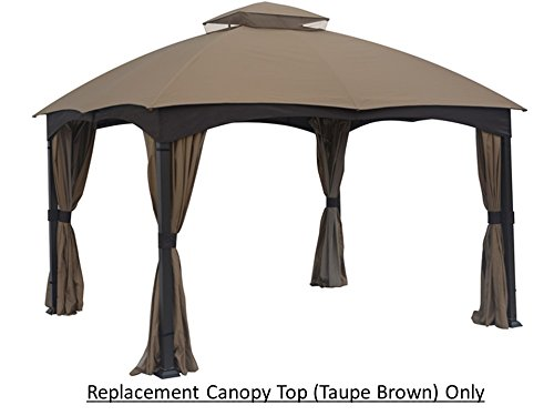 Gazebo Replacement Lowe S : Replacement canopy top for lowe s ft gazebo