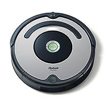 iRobot Roomba 615 Robot Aspirapolvere, Sistema di Pulizia ad Alte Prestazioni, Adatto a Pavimenti e Tappeti, Ottimo per i Peli Degli Animali Domestici, Argento