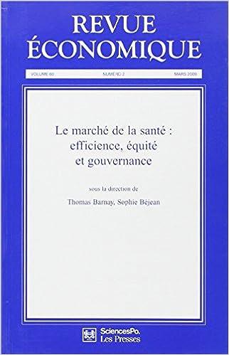 En ligne Revue Economique, Vol 60 T2, Mars 2009 pdf, epub ebook