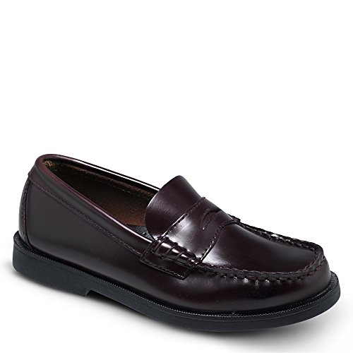 Sperry Top-Sider Boys' Colton,Burgundy Brush Off,US 6 - Penny Loafers For Girls