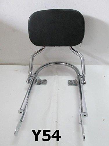 USA Y54 Triumph Bonneville T100 Low Short Backrest Sissy Bar Chrome Nice