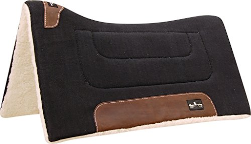 Classic Equine Performance Trainer Saddle Pad Blac for sale  Delivered anywhere in USA