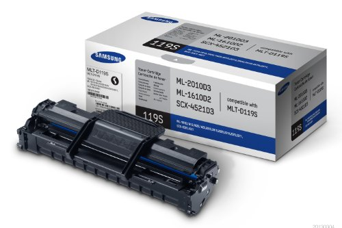 Samsung MLT-D119S Black Toner Cartridge