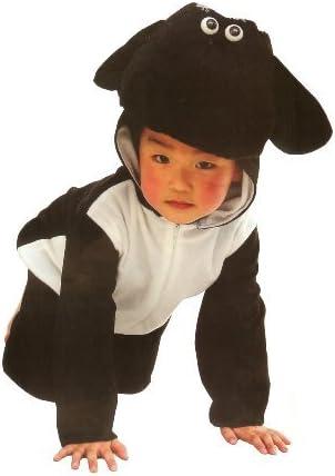 Fun Play - Disfraz de Oveja para niños - Disfraz de Animal - Mono de una Pieza para Niños y Niñas - Disfraz para niños de 5-7 años (122cm)