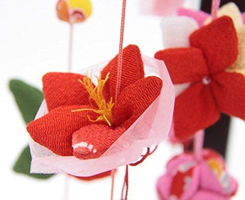吊るし飾り【12か月の花の蓮】飾り台セット [中] スタンド付き【sb3-12hr-m】   B07NNYSJLG