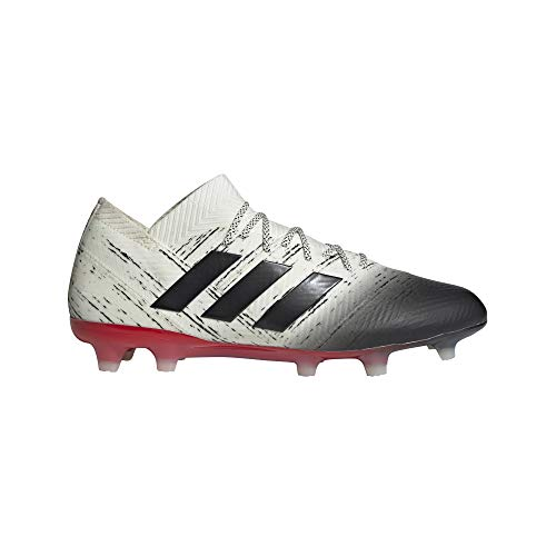 adidas Nemeziz 18.1 FG Cleat - Men's Soccer 11 Off White/Core Black/Action Red